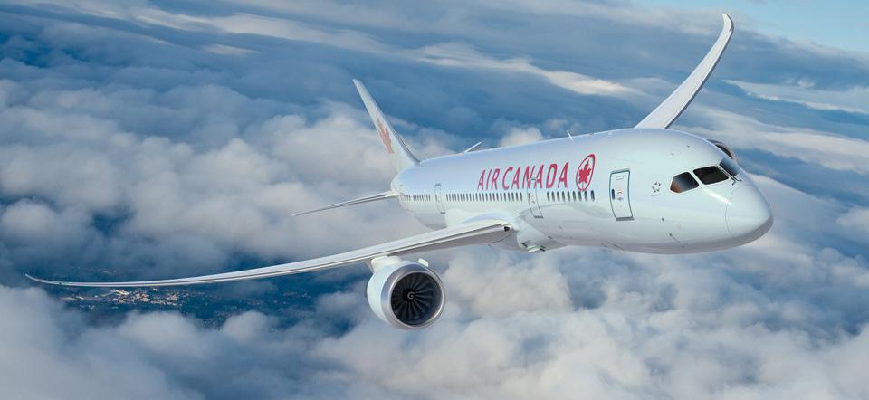 Air Canada's first 787