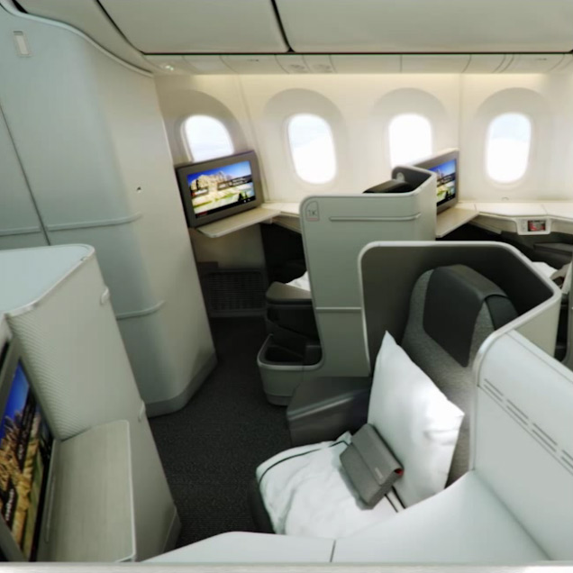 Ultimate Comfort in Air Canada Signature Class
